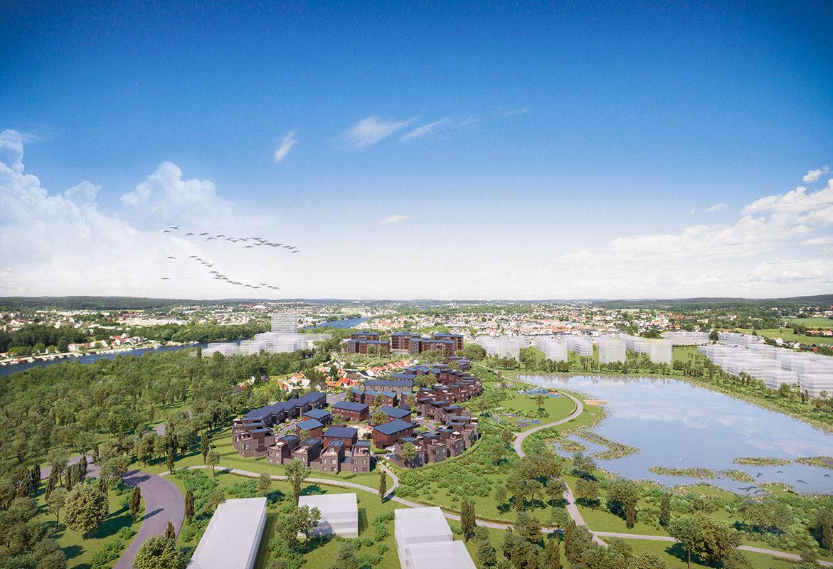 Verksbyen - den nye smarte og grønne bydelen i Fredrikstad, Future Living