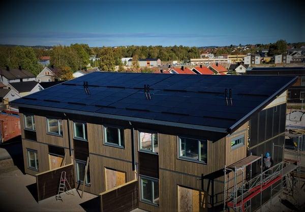 Solceller har produsert mye strøm i 2018