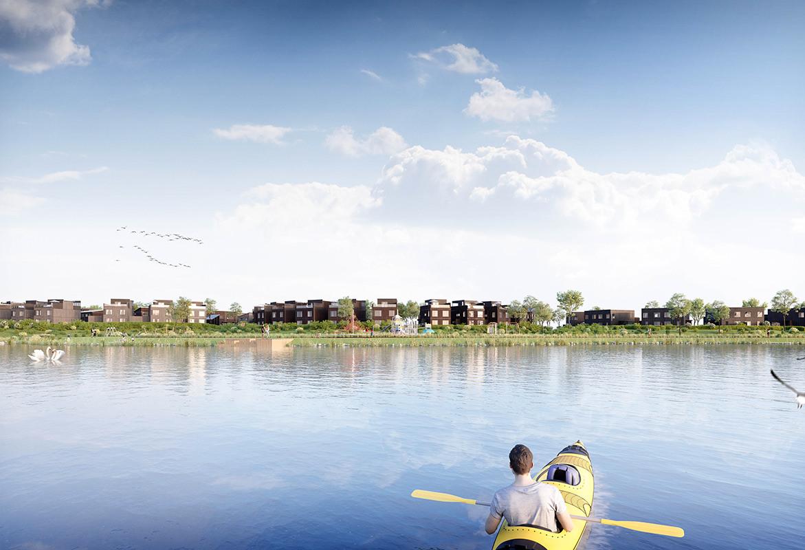 Verksbyen er første byggetrinn i Verkshagen, familievennlige boliger