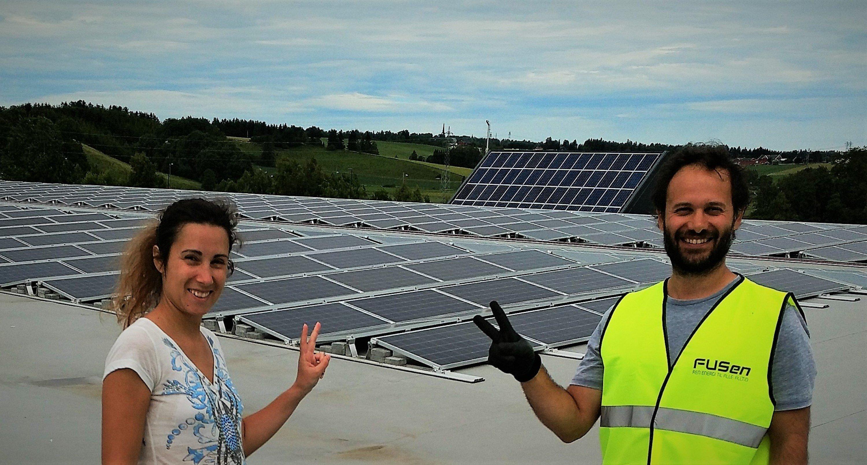 Solcellepanel på logistikkbygg som installeres korrekt av montør er en lønnsom investering