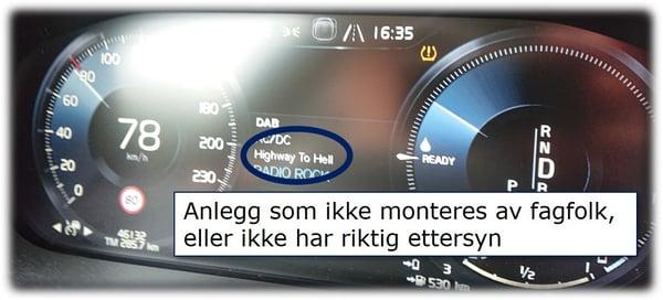 Ettersyn på Speedometer