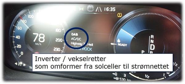 Inverter på Speedometer