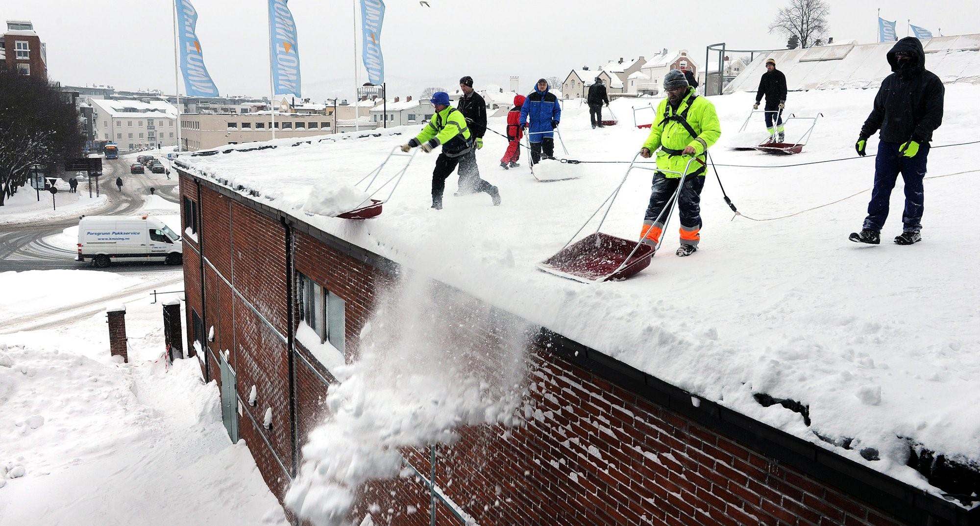 Downtown snømåking