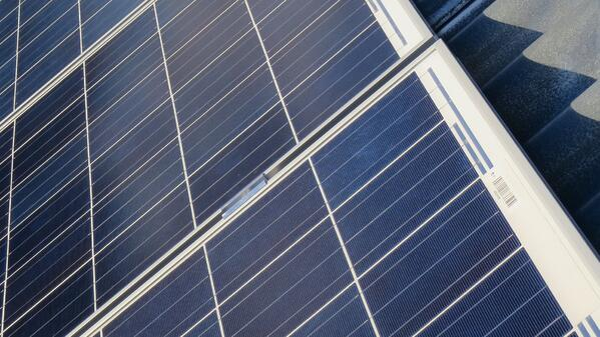 Multi-solceller på tak