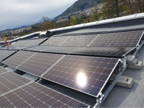Solcelleanlegg vannfordrøyning