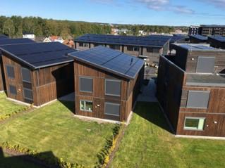 Verkshagen solceller på tak