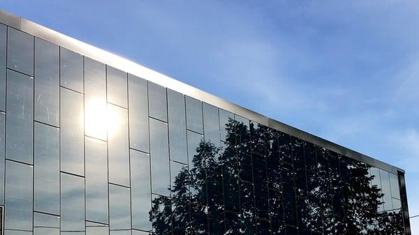 Solceller i fasaden
