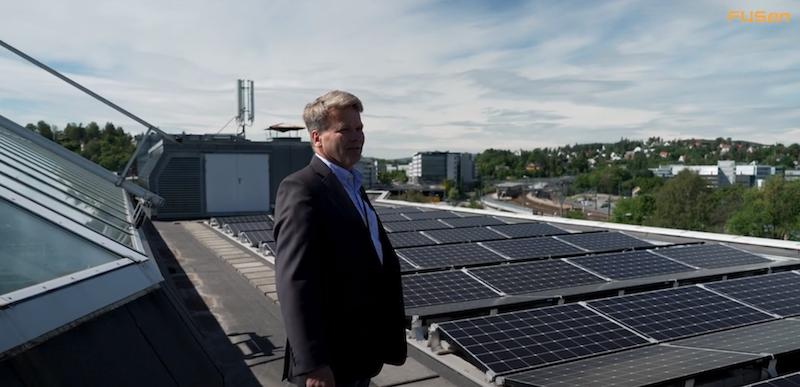 Solceller fra FUSen ble «drømmeprosjekt» for KLP Eiendom